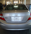 honda civic 2012 silver sedan lx gasoline 4 cylinders front wheel drive automatic 28557