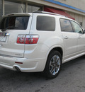 gmc acadia 2012 white suv denali gasoline 6 cylinders all whee drive automatic 45840