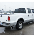 ford f 250 super duty 2005 white xlt diesel 8 cylinders rear wheel drive automatic 77388