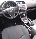 mazda mazda6 2011 techno white sedan i touring plus gasoline 4 cylinders front wheel drive automatic 92653