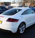 audi tt 2011 white coupe 2 0t quattro premium plus gasoline 4 cylinders all whee drive automatic 07730