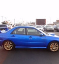 subaru impreza wrx sti 2004 blue sedan gasoline 4 cylinders all whee drive 5 speed with overdrive 45324