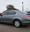 honda accord 2008 gray sedan lx p gasoline 4 cylinders front wheel drive automatic 76018