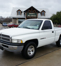 dodge ram pickup 1500 2000 white pickup truck gasoline 6 cylinders rear wheel drive automatic 76087