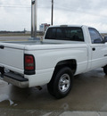 dodge ram pickup 1500 2000 white pickup truck gasoline 6 cylinders rear wheel drive automatic 76087