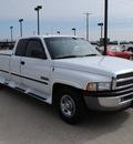 dodge ram pickup 2500 1999 white pickup truck laramie slt diesel 6 cylinders rear wheel drive automatic 76087