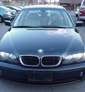 bmw 3 series 2005 blue sedan 325xi gasoline 6 cylinders all whee drive 06019