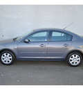 mazda mazda3 2009 gray sedan i sport gasoline 4 cylinders front wheel drive automatic 98371