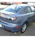 mazda mazda3 2009 gray sedan i sport gasoline 4 cylinders front wheel drive automatic 98371