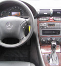 mercedes benz c240 2002 silver sedan gasoline 6 cylinders rear wheel drive automatic 33884