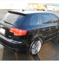 audi a3 2007 black wagon 2 0t gasoline 4 cylinders front wheel drive automatic 98226