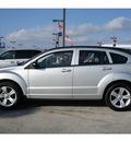 dodge caliber 2010 silver hatchback sxt gasoline 4 cylinders front wheel drive automatic 77090