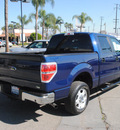 ford f 150 2010 blue xlt flex fuel 8 cylinders 2 wheel drive automatic 91010