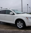 dodge journey 2010 white suv sxt gasoline 6 cylinders front wheel drive automatic 76018