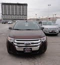 ford edge 2012 dk  red se gasoline 6 cylinders front wheel drive automatic with overdrive 60546
