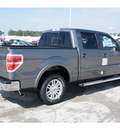 ford f 150 2012 gray lariat gasoline 6 cylinders 2 wheel drive automatic 77388