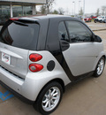smart fortwo 2009 silver coupe passion gasoline 3 cylinders rear wheel drive automatic 76210