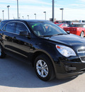 chevrolet equinox 2010 black suv ls gasoline 4 cylinders front wheel drive automatic 76087