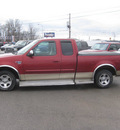 ford f 150 2000 red xlt gasoline v8 rear wheel drive automatic with overdrive 62863