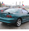 ford mustang 1996 green coupe gt gasoline v8 rear wheel drive 5 speed manual 77037