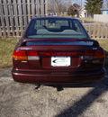 subaru legacy 1999 dk  red sedan l gasoline 4 cylinders all whee drive automatic 45324