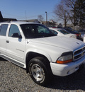 dodge durango 2001 white suv slt gasoline 8 cylinders 4 wheel drive automatic 45324