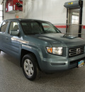 honda ridgeline 2007 blue pickup truck rtl gasoline 6 cylinders all whee drive automatic 44060