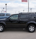 nissan pathfinder 2010 black suv s fe gasoline 6 cylinders 2 wheel drive automatic with overdrive 76018