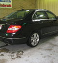 mercedes benz c300 2008 black sedan 4matic gasoline 6 cylinders all whee drive automatic 44883