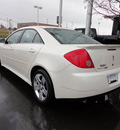 pontiac g6 2009 white pearl sedan gasoline 4 cylinders front wheel drive automatic 45036