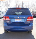 dodge journey 2010 deep water blue suv sxt gasoline 6 cylinders front wheel drive automatic 80911