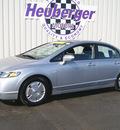 honda civic 2007 alabaster silver sedan hybrid hybrid 4 cylinders front wheel drive automatic 80905