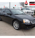mitsubishi galant 2012 black sedan se gasoline 4 cylinders front wheel drive automatic 78238