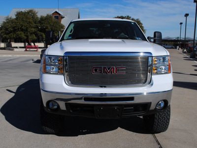 gmc sierra 2500hd 2008 white diesel 8 cylinders 4 wheel drive automatic 76087