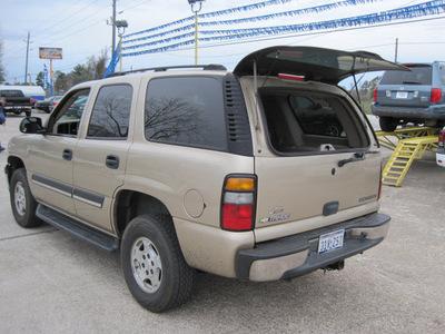 chevrolet tahoe 2005 beige suv fleet gasoline 8 cylinders rear wheel drive automatic 77379