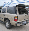 chevrolet tahoe 2005 beige suv fleet gasoline 8 cylinders rear wheel drive automatic 77379