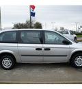 dodge grand caravan 2007 silver van se gasoline 6 cylinders front wheel drive 4 speed automatic 77090