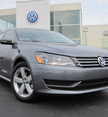 volkswagen passat 2012 gray sedan se gasoline 5 cylinders front wheel drive 6 speed automatic 46410