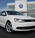 volkswagen jetta 2012 white sedan se pzev gasoline 5 cylinders front wheel drive 6 speed automatic 46410