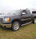 gmc sierra 1500 2012 black pickup truck sle flex fuel 8 cylinders 2 wheel drive automatic with overdrive 28557