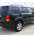 honda pilot 2011 black suv ex gasoline 6 cylinders 2 wheel drive automatic with overdrive 77065