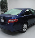 toyota camry 2007 blue sedan se gasoline 4 cylinders front wheel drive automatic 91731