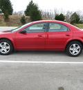 dodge stratus 2003 red sedan sxt gasoline 4 cylinders dohc front wheel drive automatic 45840