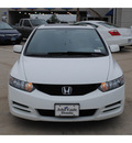 honda civic 2009 white coupe ex gasoline 4 cylinders front wheel drive automatic 77065
