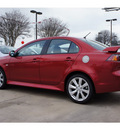 mitsubishi lancer 2012 dk  red sedan gt gasoline 4 cylinders front wheel drive automatic 78238