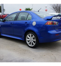 mitsubishi lancer 2012 blue sedan gt gasoline 4 cylinders front wheel drive automatic 78238