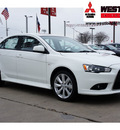 mitsubishi lancer 2012 white sedan gt gasoline 4 cylinders front wheel drive automatic 78238
