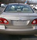 toyota corolla 2007 gold sedan 4 cylinders automatic with overdrive 13502