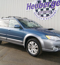 subaru outback 2009 newport blue wagon 2 5xt limited 4 cylinders automatic 80905