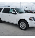 ford expedition el 2012 white suv limited 8 cylinders automatic 77388